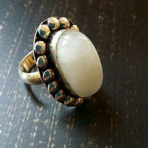Moonstone ring size 7 Sterling Silver new Gemstone
